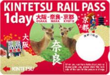 KINTETSU RAIL PASS 1day